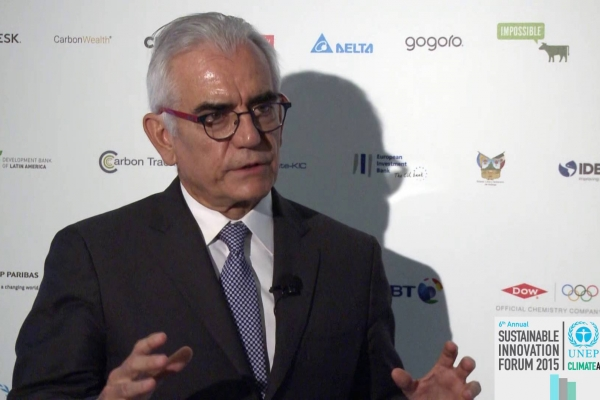 Climate Leader Interview - Luis Enrique Berrizbeitia, Executive Vice President, CAF